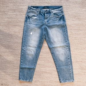 Cropped lucky brand jeans